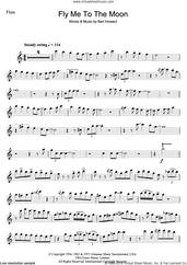 Cover icon of Fly Me To The Moon (In Other Words) sheet music for flute solo by Julie London and Bart Howard, intermediate skill level