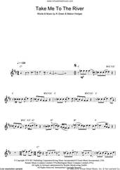 Cover icon of Take Me To The River sheet music for clarinet solo by Al Green and Mabon Hodges, intermediate skill level