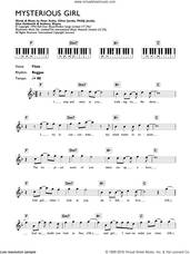 Cover icon of Mysterious Girl sheet music for piano solo (chords, lyrics, melody) by Peter Andre, Anthony Wayne, Glen Goldsmith, Oliver Jacobs and Phillip Jacobs, intermediate piano (chords, lyrics, melody)