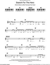 Cover icon of Search For The Hero sheet music for piano solo (chords, lyrics, melody) by M People, Mike Pickering and Paul Heard, intermediate piano (chords, lyrics, melody)