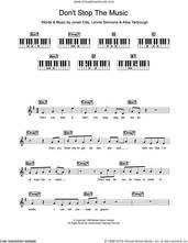 Cover icon of Don't Stop The Music sheet music for piano solo (chords, lyrics, melody) by Yarbrough and Peoples, Alisa Yarbrough, Jonah Ellis and Lonnie Simmons, intermediate piano (chords, lyrics, melody)