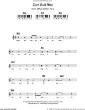 Cover icon of Zoot Suit Riot sheet music for piano solo (chords, lyrics, melody) by Cherry Poppin' Daddies and Steve Perry, intermediate piano (chords, lyrics, melody)