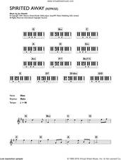 Cover icon of Reprise (from Spirited Away) sheet music for piano solo (chords, lyrics, melody) by Joe Hisaishi, intermediate piano (chords, lyrics, melody)