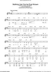 Cover icon of Nothing Like You've Ever Known (from Tell Me On A Sunday) sheet music for voice and other instruments (fake book) by Andrew Lloyd Webber and Sarah Brightman, intermediate skill level