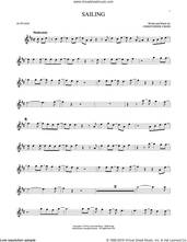 Cover icon of Sailing sheet music for alto saxophone solo by 'N Sync and Christopher Cross, intermediate skill level