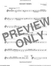 Cover icon of Rockin' Robin sheet music for violin solo by Thomas Jimmie, Bobby Day and Michael Jackson, intermediate skill level