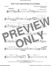 Cover icon of Don't Get Around Much Anymore sheet music for tenor saxophone solo by Duke Ellington and Bob Russell, intermediate skill level