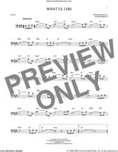 Cover icon of What'll I Do? sheet music for cello solo by Irving Berlin and Bobby Scott, intermediate skill level