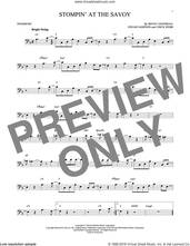 Cover icon of Stompin' At The Savoy sheet music for trombone solo by Benny Goodman, Andy Razaf, Chick Webb and Edgar Sampson, intermediate skill level