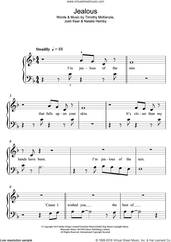 Cover icon of Jealous sheet music for piano solo (5-fingers) by Labrinth, Josh Kear, Natalie Hemby and Timothy McKenzie, beginner piano (5-fingers)