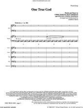 Cover icon of One True God (COMPLETE) sheet music for orchestra/band by Chris Tomlin, Harold Ross, Matt Redman and Steven Curtis Chapman, intermediate skill level