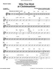 Cover icon of Miss You Most At Christmas Time (complete set of parts) sheet music for orchestra/band by Mark Hayes, Mariah Carey and Walter Afanasieff, intermediate skill level