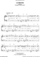 Cover icon of La Bamba sheet music for piano solo (beginners) by Ritchie Valens and Miscellaneous, beginner piano (beginners)