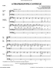 Cover icon of A Thanksgiving Canticle (COMPLETE) sheet music for orchestra/band by Joseph M. Martin and Brad Nix, intermediate skill level