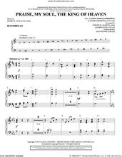Cover icon of Praise, My Soul, the King of Heaven sheet music for orchestra/band (handbells) by Henry F. Lyte, Joseph M. Martin, Brad Nix, John Goss and Mark Andrews, intermediate skill level