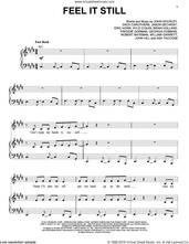 Cover icon of Feel It Still sheet music for voice, piano or guitar by Portugal. The Man, intermediate skill level