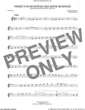 Cover icon of There's No Business Like Show Business sheet music for alto saxophone solo by Irving Berlin, intermediate skill level