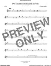 Cover icon of I've Never Been In Love Before sheet music for flute solo by Frank Loesser, Billy Eckstine, Chet Baker and Stan Kenton, intermediate skill level