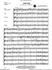 Cover icon of Can Can (COMPLETE) sheet music for wind quintet by Jacques Offenbach and James Christensen, classical score, intermediate skill level