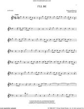 Cover icon of I'll Be sheet music for alto saxophone solo by Edwin McCain, wedding score, intermediate skill level