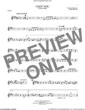 Cover icon of I Got You (I Feel Good) sheet music for violin solo by James Brown, intermediate skill level