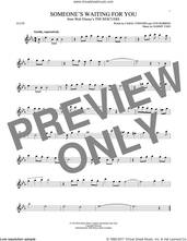 Cover icon of Someone's Waiting For You sheet music for flute solo by Ayn Robbins, Carol Connors and Sammy Fain, intermediate skill level