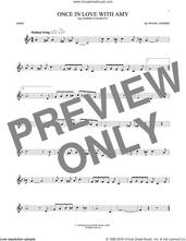 Cover icon of Once In Love With Amy sheet music for horn solo by Frank Loesser, intermediate skill level