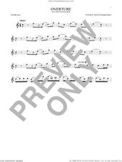Cover icon of Overture sheet music for tenor saxophone solo by Pyotr Ilyich Tchaikovsky, classical score, intermediate skill level