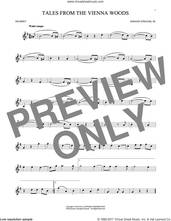 Cover icon of Tales From The Vienna Woods sheet music for trumpet solo by Johann Strauss, Jr., classical score, intermediate skill level