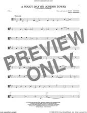 Cover icon of A Foggy Day (In London Town) sheet music for viola solo by George Gershwin and Ira Gershwin, intermediate skill level