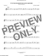 Cover icon of I've Never Been In Love Before sheet music for tenor saxophone solo by Frank Loesser, Billy Eckstine, Chet Baker and Stan Kenton, intermediate skill level
