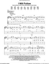 Cover icon of I Will Follow sheet music for guitar solo (easy tablature) by Chris Tomlin, Jason Ingram and Reuben Morgan, easy guitar (easy tablature)