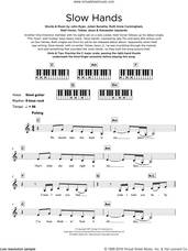 Cover icon of Slow Hands sheet music for piano solo (keyboard) by Niall Horan, Alexander Izquierdo, John Ryan, Julian Bunetta, Ruth Anne Cunningham and Tobias Jesso, intermediate piano (keyboard)