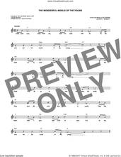 Cover icon of The Wonderful World Of The Young sheet music for voice and other instruments (fake book) by Andy Williams, Roy Bennett and Sid Tepper, intermediate skill level