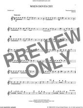 Cover icon of When Doves Cry sheet music for tenor saxophone solo by Prince, intermediate skill level