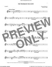 Cover icon of No Woman No Cry sheet music for trumpet solo by Bob Marley and Vincent Ford, intermediate skill level