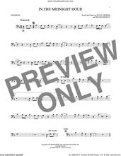 Cover icon of In The Midnight Hour sheet music for trombone solo by Wilson Pickett and Steve Cropper, intermediate skill level