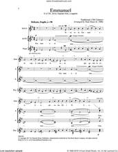 Cover icon of Emmanuel sheet music for choir (SATB: soprano, alto, tenor, bass) by Paul Doust, intermediate skill level