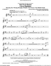 Cover icon of Dear Evan Hansen (Choral Highlights) (complete set of parts) sheet music for orchestra/band by Mark Brymer, Benj Pasek and Justin Paul, intermediate skill level