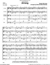 Cover icon of Arirang (COMPLETE) sheet music for orchestra by Deborah Baker Monday and Korean folk song, intermediate skill level