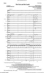 Cover icon of The Lion and the Lamb (with All Hail the Power of Jesus' Name) (COMPLETE) sheet music for orchestra/band by Heather Sorenson, Big Daddy Weave, Brenton Brown, Brian Johnson, Leeland and Leeland Mooring, intermediate skill level