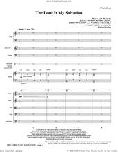 Cover icon of The Lord Is My Salvation (COMPLETE) sheet music for orchestra/band by Robert Sterling, Jonas Myrin, Keith Getty, Kristyn Getty and Nathan Nockels, intermediate skill level