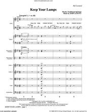 Cover icon of Keep Your Lamps (COMPLETE) sheet music for orchestra/band by John Leavitt and Miscellaneous, intermediate skill level