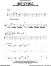 Cover icon of Best Part of Me (feat. YEBBA) sheet music for guitar (rhythm tablature) by Ed Sheeran, YEBBA, Abbey Smith and Benjamin Levin, intermediate skill level