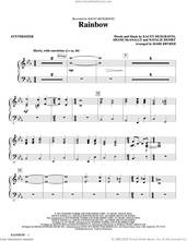 Cover icon of Rainbow (arr. Mark Brymer) (complete set of parts) sheet music for orchestra/band by Kacey Musgraves, Mark Brymer, Natalie Hemby and Shane McAnally, intermediate skill level