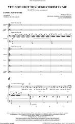 Cover icon of Yet Not I But Through Christ in Me (arr. Thomas Grassi) (COMPLETE) sheet music for orchestra/band by Thomas Grassi, City Alight, Jonny Robinson, Michael Farren and Rich Thompson, intermediate skill level