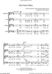Cover icon of Kiss from a Rose (arr. Wendy Sergeant) sheet music for choir (SATB: soprano, alto, tenor, bass) by Manuel Seal, Wendy Sergeant and Henry Olusegun Adeola Samuel, intermediate skill level