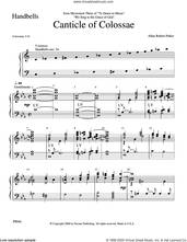 Cover icon of Canticle of Colossae sheet music for orchestra/band (Handbells) by Allan Robert Petker, intermediate skill level