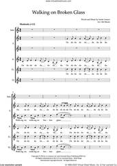 Cover icon of Walking On Broken Glass (arr. Abi Moore) sheet music for choir (SSATB) by Annie Lennox and Abi Moore, intermediate skill level
