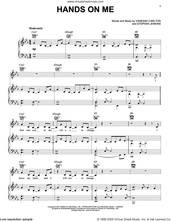 Cover icon of Hands On Me sheet music for voice, piano or guitar by Vanessa Carlton and Stephan Jenkins, intermediate skill level